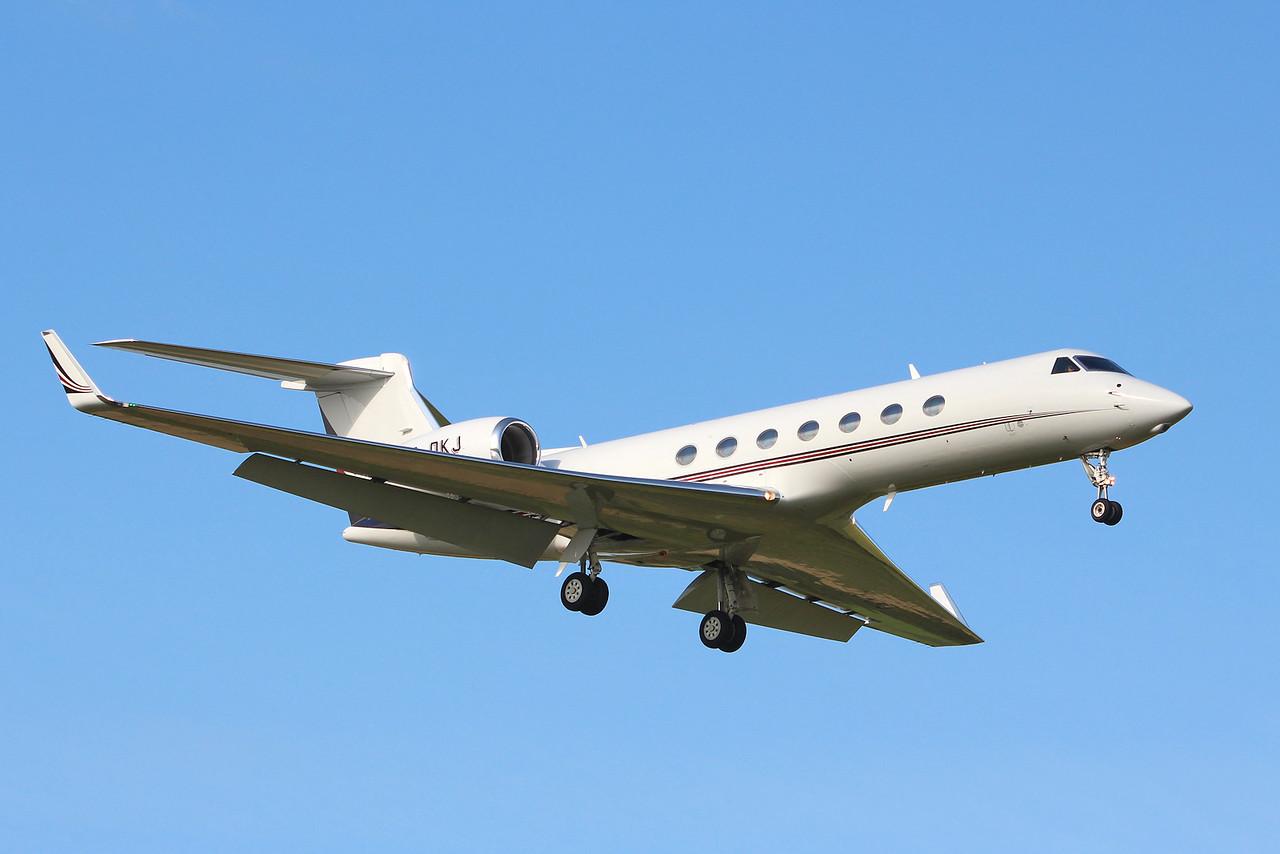 Netjets Europe, Gulfstream G550, CS-DKJ<br /> By Graham Miller.
