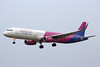 Wizz Air, A321, HA-LXT; a weather diversion from Budapest to Luton<br /> By Graham Miller.