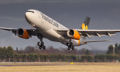 Thomas Cook, A330, G-VYGK By Jim Calow.