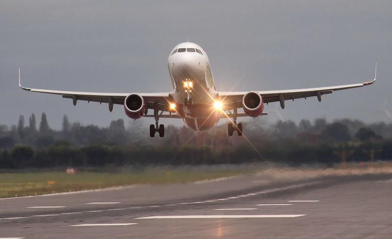 Wizz Air A321 HA-LFX.<br /> By Jim Calow.
