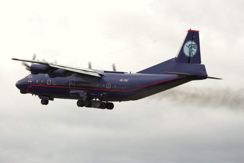 Ukraine Air Alliance, Antonov An-12BK, UR-CNT<br /> By Graham Miller.