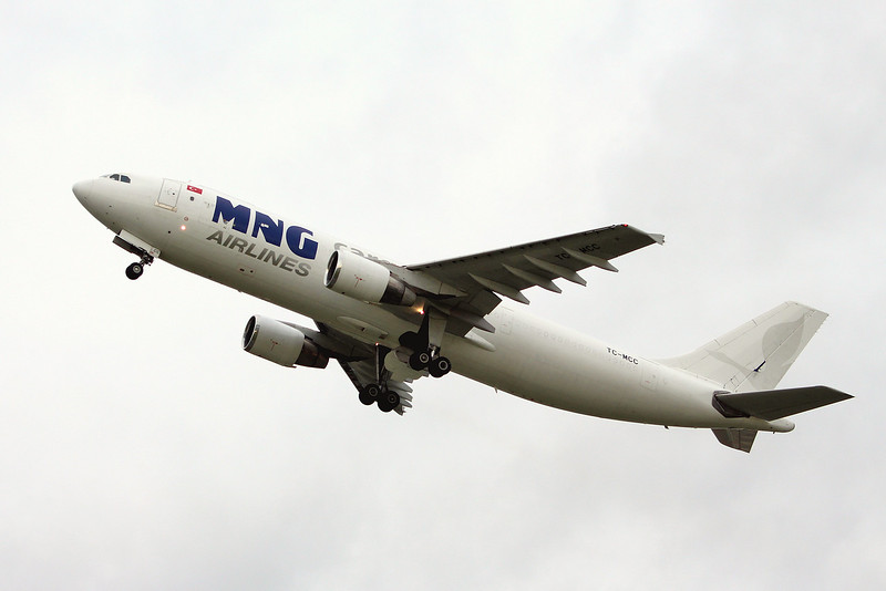 MNG Airlines A300-622R(F), TC-MCC<br /> By Graham Miller.