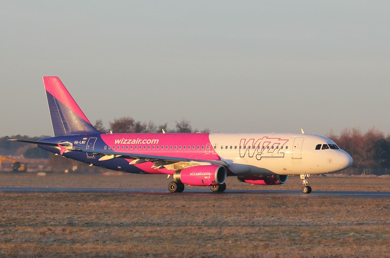 Wizz Air, A320, HA-LWD<br /> By Clive Featherstone.