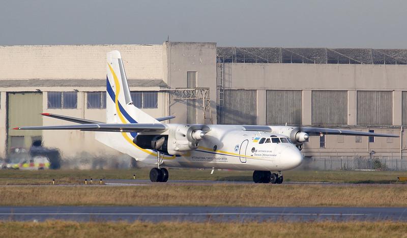 Antonov Airlines, Antonov An-26-100, UR-13395<br /> By Jim Calow.