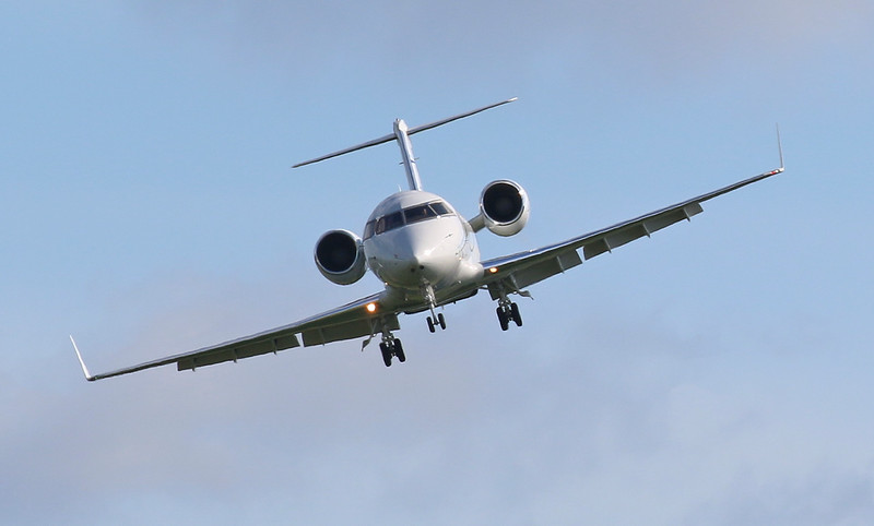 Canadair CL601 Challenger, 2-BLUE - this time to land for a crew change<br /> By Correne Calow.
