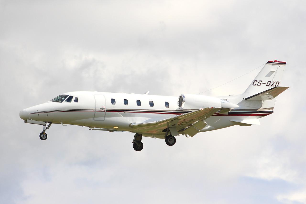 Netjets Europe, Cessna 560XL Citation XLS, CS-DXO<br /> By Graham Miller.