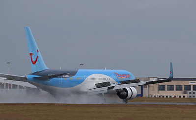 Thomson Airways, 767-300, G-OBYG By Correne Calow.