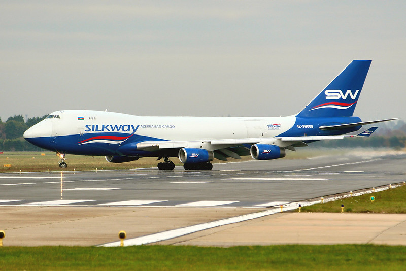 Silk Way West Airlines 747-4R7F 4K-SW008<br /> By Graham Miller.