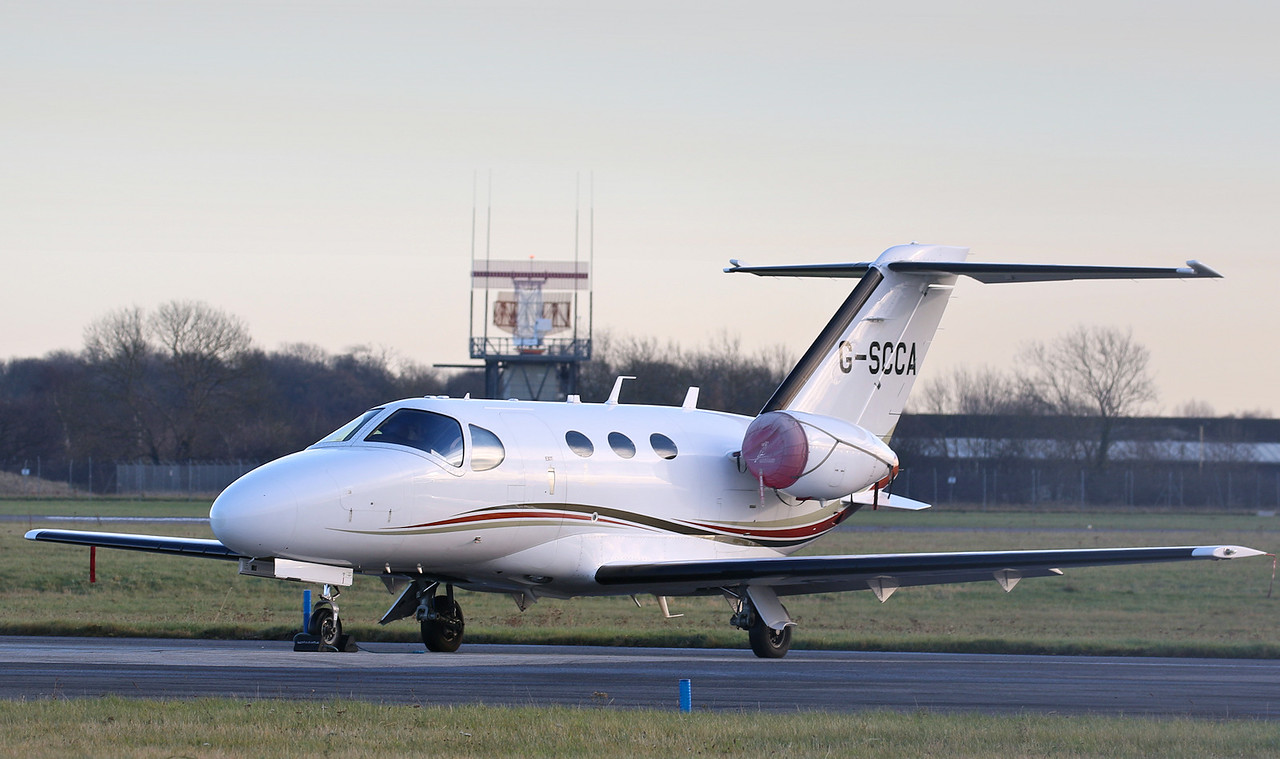 Synergy Aviation Cessna 510 Mustang G-SCCA<br /> By Correne Calow.