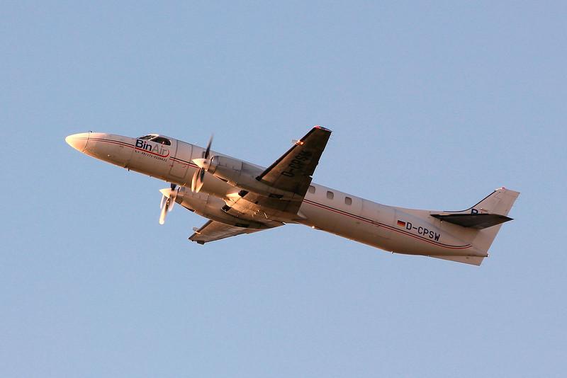 BinAir Swearingen SA-227AC Metro III D-CPSW.<br /> By Graham Miller.