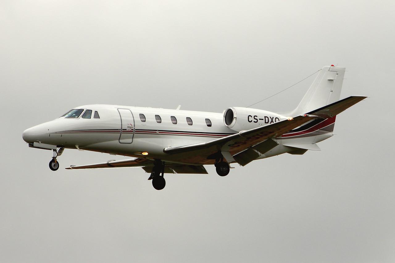 Netjets Europe, Cessna 560XL Citation XLS, CS-DXQ<br /> By Graham Miller.