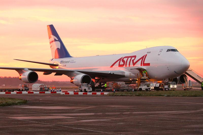 Astral Aviation (Air Atlanta Icelandic) 747-400F TF-AMU.<br /> By Graham Miller.
