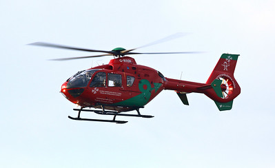 Babcock Mission Critical Services Onshore Limited Wales Air Ambulance, Eurocopter EC135-T2+, G-WASN By Correne Calow.