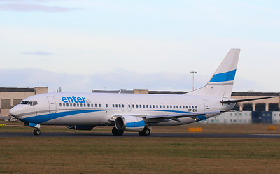 Enter Air 737-400 SP-ENI By Correne Calow.