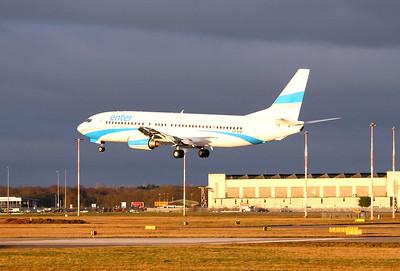 Enter Air 737-400 SP-ENI  By Graham Miller.