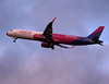 Wizz Air A321 HA-LXF<br /> By Graham Miller.