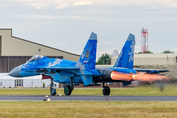 2017 RIAT Arrivals Day