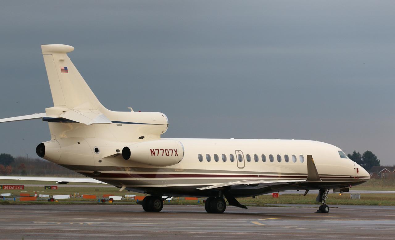 ACM Aviation Inc, Falcon 7X, N7707X<br /> By Correne Calow.