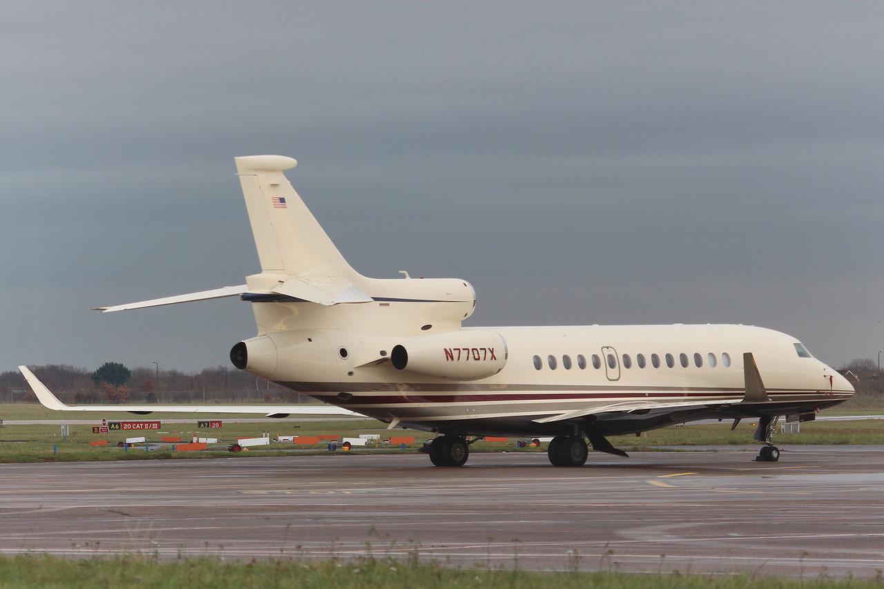 ACM Aviation Inc, Falcon 7X, N7707X<br /> By Graham Miller.