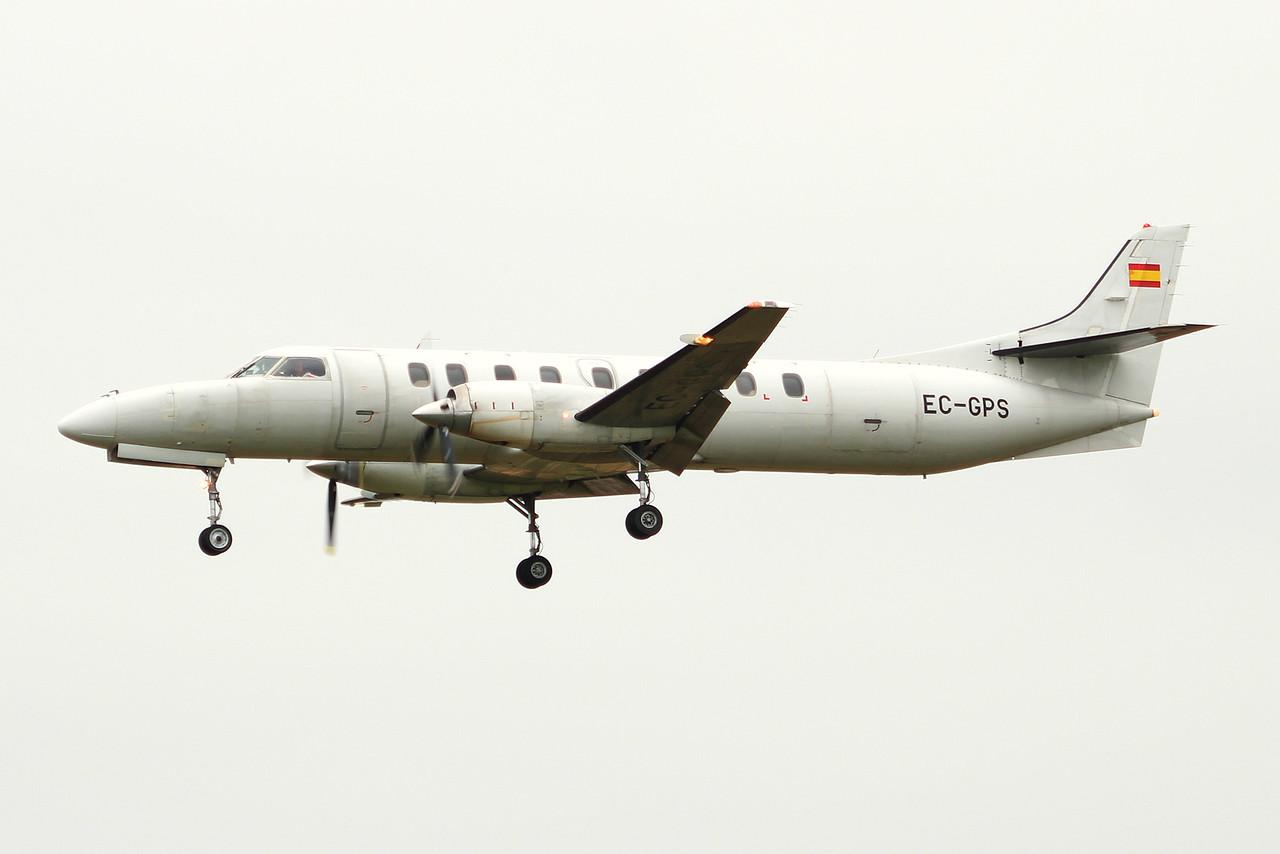 Flightline, Fairchild Swearingen SA-227DC Metro III, EC-GPS<br /> By Graham Miller.