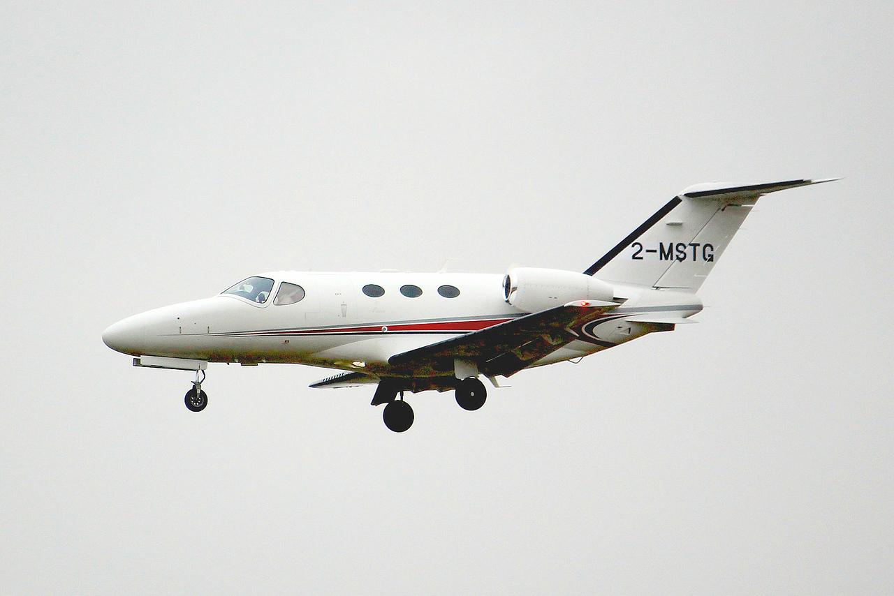 Cessna 510 Citation Mustang, 2-MSTG<br /> By Graham Miller.