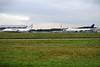 Antonov Airlines, An124-100, UR-82009  and Aerotranscargo, 747-400F, ER-BBJ<br /> By Ray Spencer.