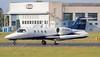 Jet Executive International Learjet 35A D-CCCA.<br /> By Jim Calow.