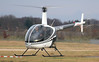 Hummingbird Helicopters, Robinson R22 Beta, G-LYNC<br /> By Jim Calow.