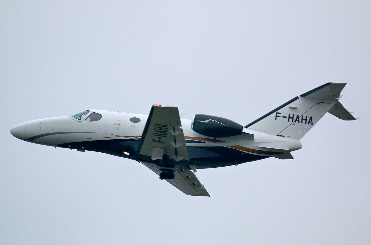 Astonjet, Cessna 510 Citation Mustang, F-HAHA<br /> By Correne Calow.