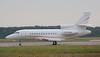 Xclusive Jet Charter Falcon 900B G-FLCN.<br /> By Jim Calow.