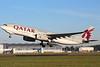 Qatar Air Cargo, A330-243F, A7-AFG<br /> By Graham Miller.