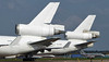 Western Global Airlines MD-11F's N411SN & N513SN.<br /> By Jim Calow.