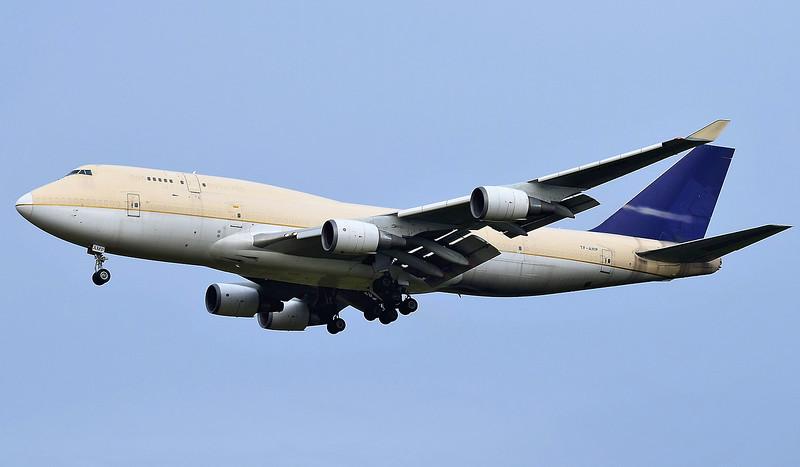 Air Atlanta Icelandic 747-400F TF-AMP.<br /> By Ray Spencer.