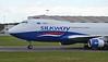 Silkway West Airlines, 747-400F, VP-BCH<br /> By Jack Barratt.