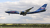 Silkway West Airlines, 747-400F, VP-BCH<br /> By Jim Calow.