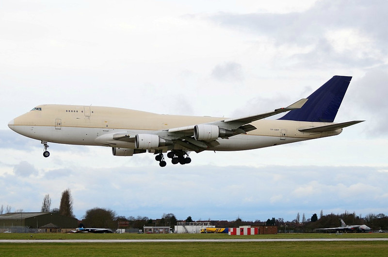 Air Atlanta Icelandic, 747-400F, TF-AMP<br /> By Andrew Exton