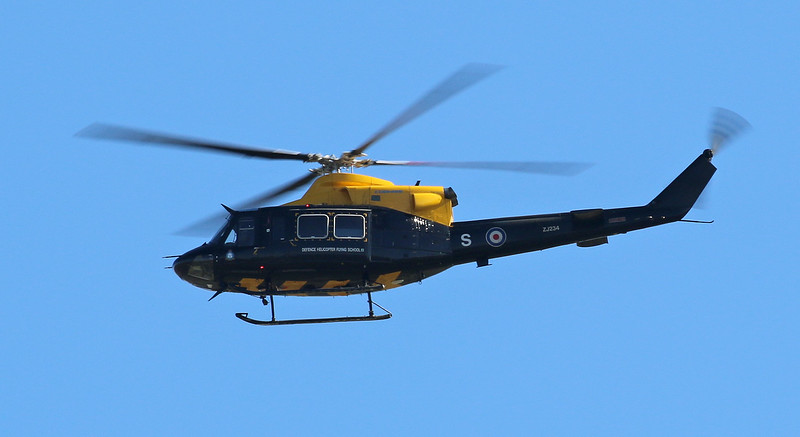 RAF, Defence Helicopter Flying School, Bell 412EP Griffin HT.1, ZJ234<br /> By Correne Calow.