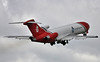 T2 Aviation, 727-200F, G-OSRB<br /> By Steve Roper.