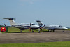 Beech 200GT Super King Air, N239KF and Cessna 525 Citation M2, N902MZ<br /> By Correne Calow.