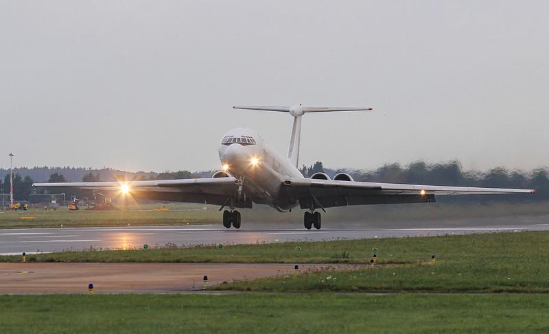 Rada Airlines, Ilyushin IL-62, EW-450TR<br /> By Jim Calow.