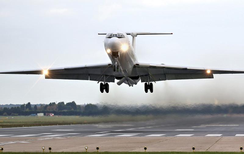 Rada Airlines, Ilyushin IL-62, EW-450TR<br /> By Correne Calow.