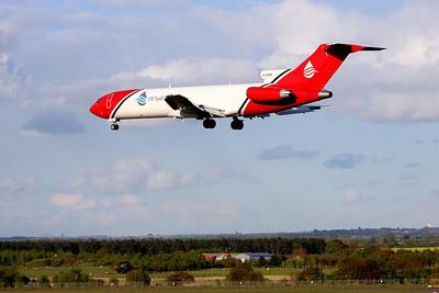 T2 Aviation, 727-200F, G-OSRB By Graham Miller.