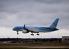 Thomson Airways, 757-200, G-OOBN<br /> By Graham Miller.