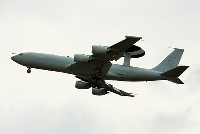 Royal Air Force Boeing E-3D Sentry, ZH103 By Graham Miller.