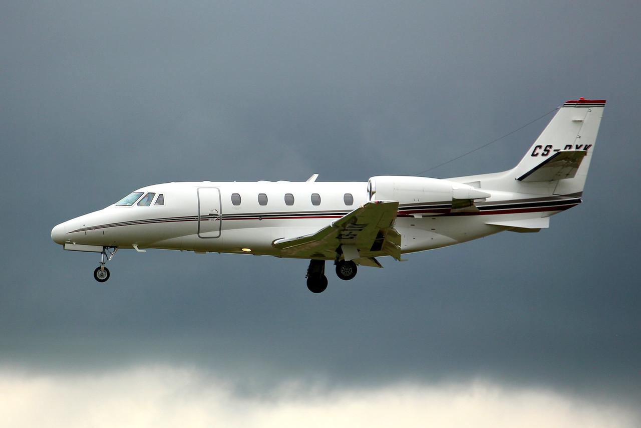 Netjets Cessna 560XL Citation XLS CS-DXK<br /> By Graham Miller.