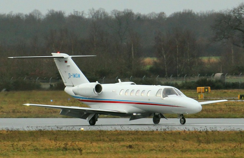 Air Hamburg, Cessna 525A CitationJet CJ2+, D-IMGW<br /> By Clive Featherstone.