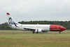 Norwegian Air International, 737-800, EI-FVR<br /> By Clive Featherstone.