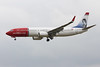Norwegian Air International, 737-800, EI-FVR<br /> By Graham Miller.