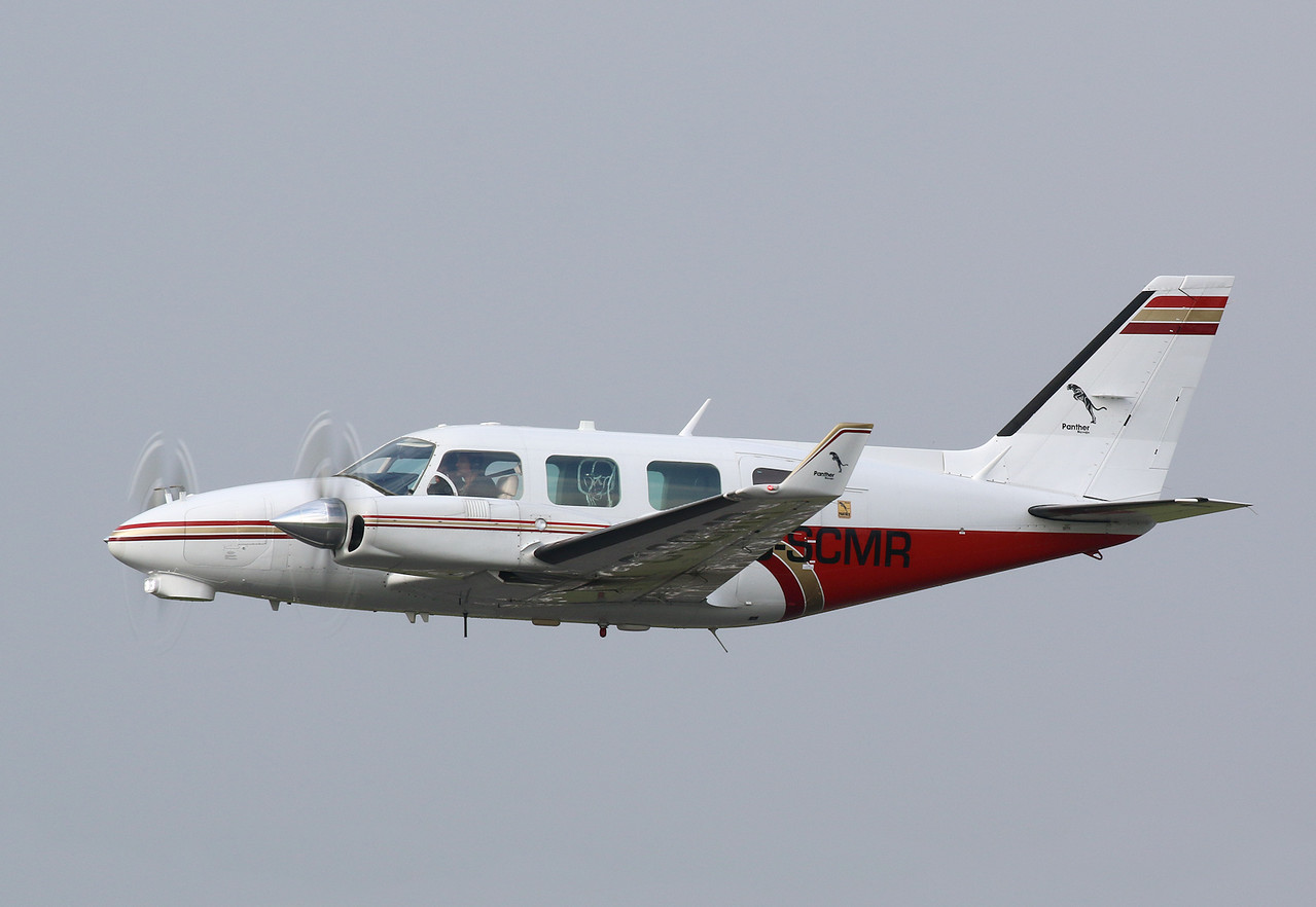 2Excel Aviation, Piper PA-31 Navajo, G-SCMR<br /> By Correne Calow.