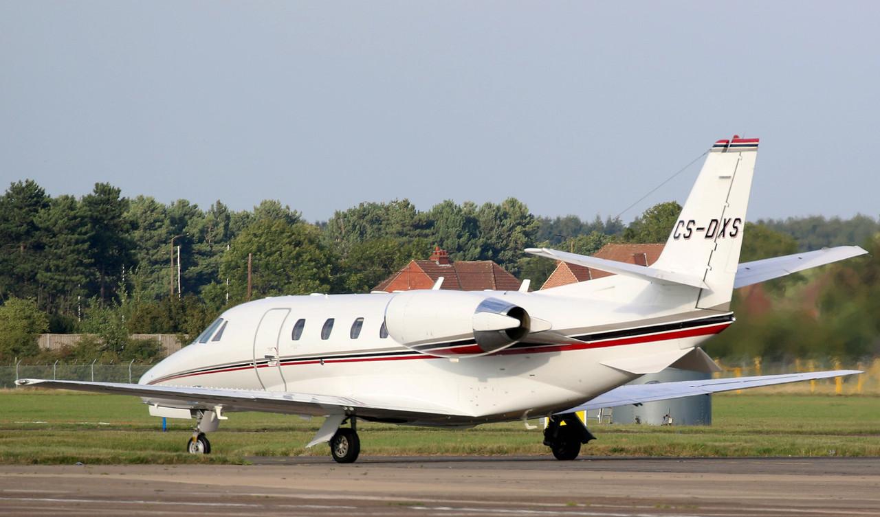 NetJets Europe Cessna 560XL Citation XLS CS-DXS<br /> By Correne Calow
